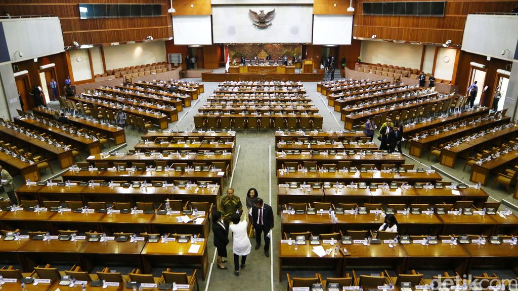 Paripurna DPR Soal Revisi UU KPK Batal, Ditunda Pekan Depan