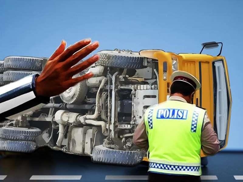 Truk Tabrak Truk di Tol Jakarta-Tangerang, Satu Orang Tewas