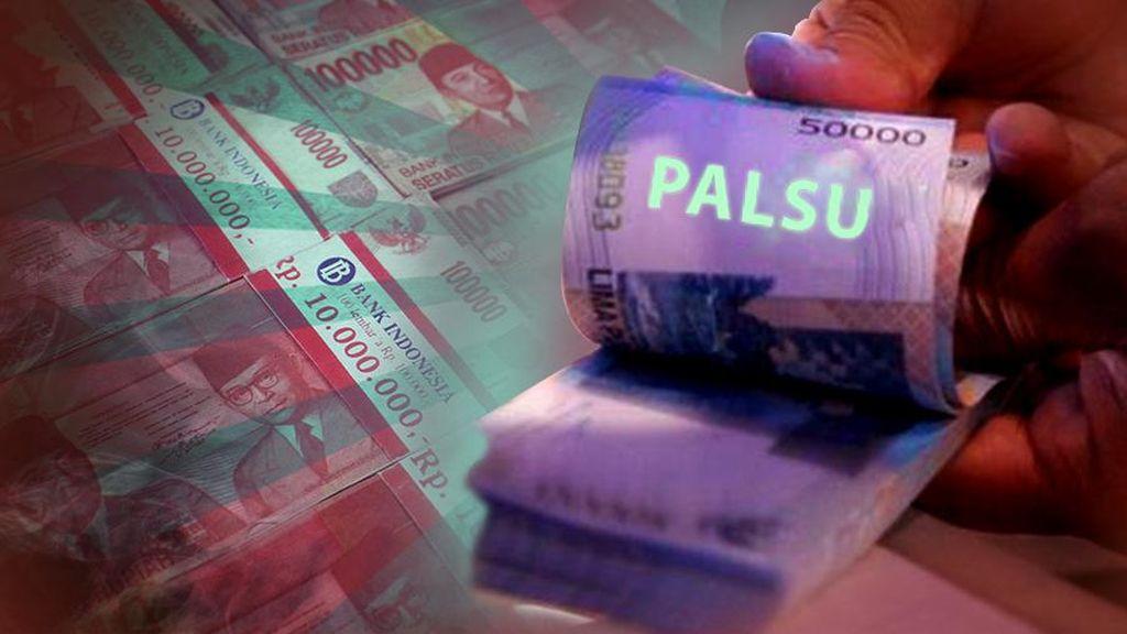 Edarkan Uang Palsu, 5 Orang Dibekuk Polisi di Deliserdang