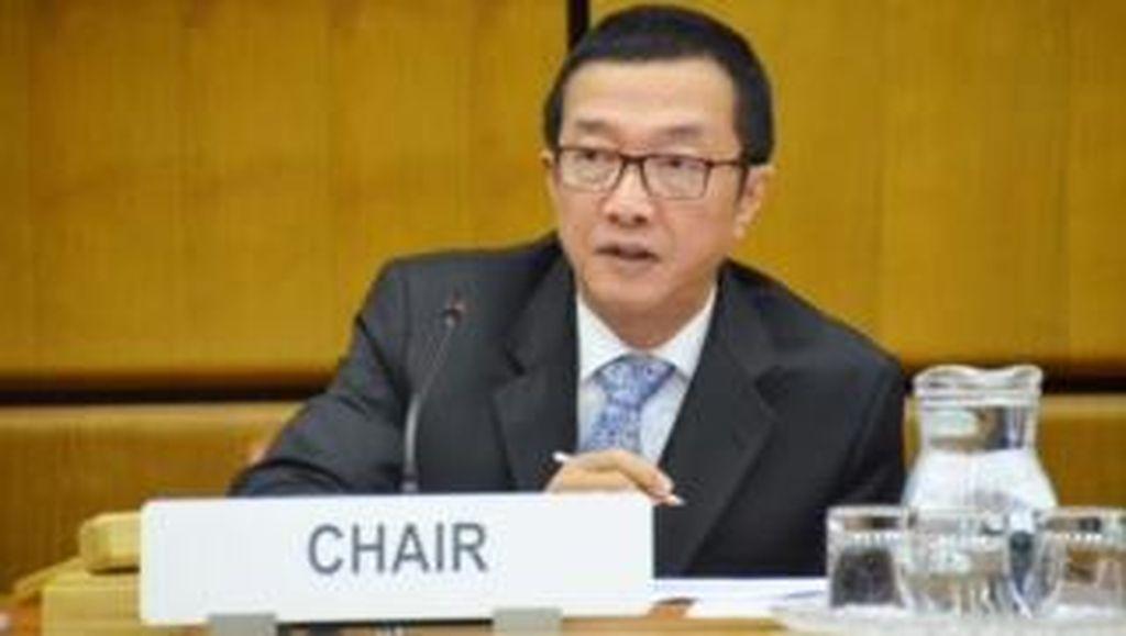 Di Markas PBB, Dubes RI Pimpin Penanganan Masalah Perdagangan Orang
