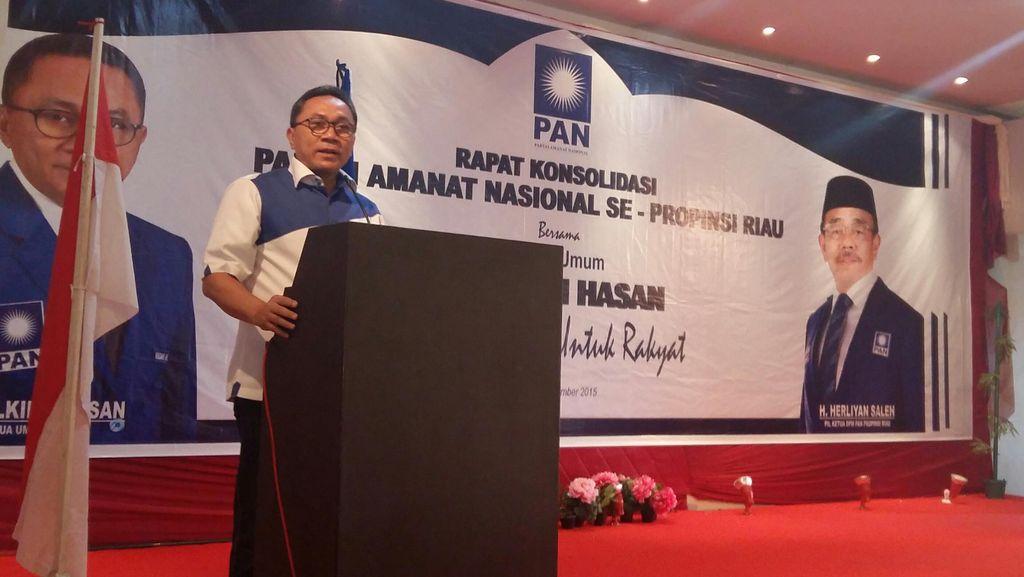 Kini PAN Bakal Ikuti Pertemuan Partai-partai Pendukung Pemerintah