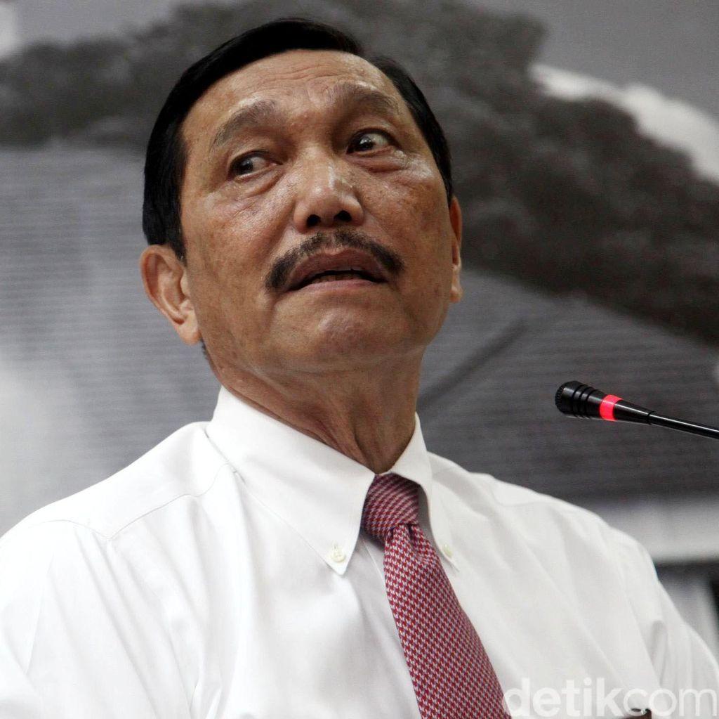 Luhut Siap Penuhi Panggilan MKD Soal Penyebutan Namanya di Rekaman Novanto