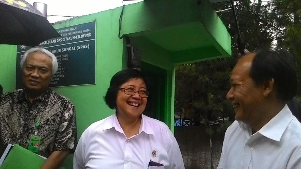 Ini Upaya Menteri Siti Antisipasi Banjir Jakarta dari Hulu Ciliwung