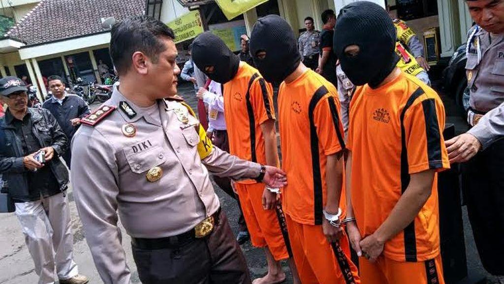 Geng Motor Teror Warga Kota Sukabumi, Baru Tiga Orang yang Dibekuk Polisi