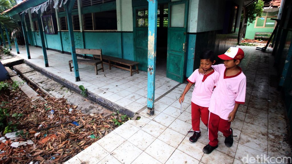 156 Gedung Sekolah Rusak di Jakarta Akan Diperbaiki Tahun ini