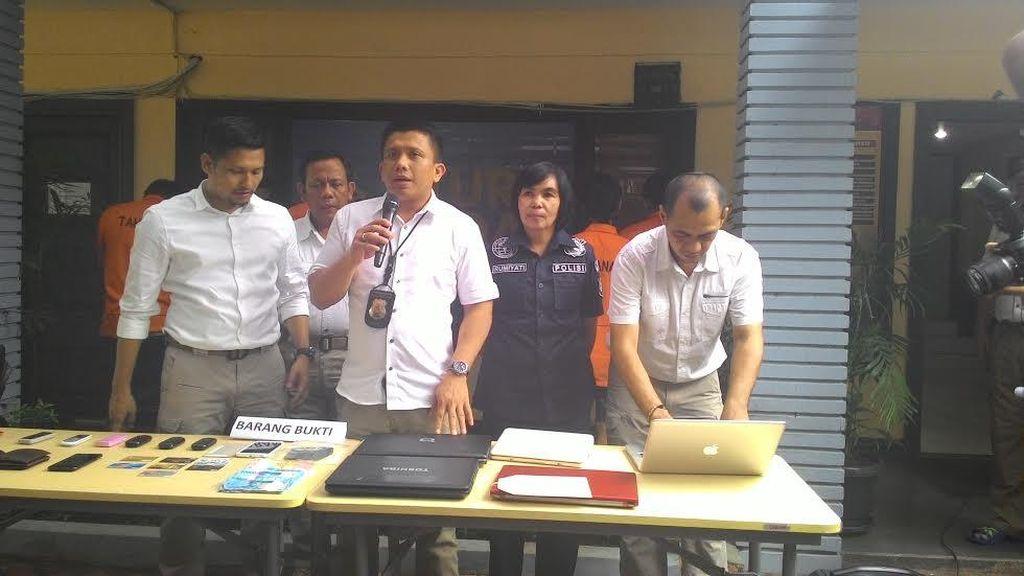 Komplotan Pencuri Modus Gembos Ban yang Terekam CCTV Ditangkap Polisi