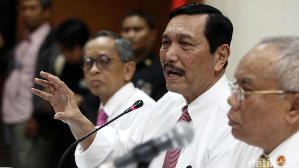 Luhut: Pejabat Berekening Gendut Perlu Ditindak, Tarik dari Garis Awal
