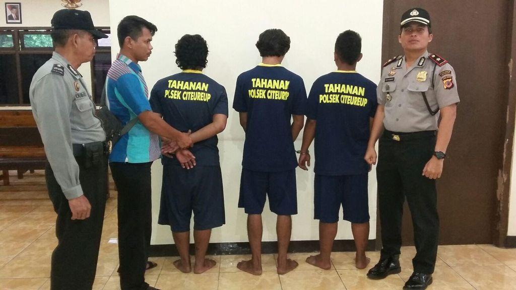Keroyok Warga Citeureup Bogor, 2 Preman Diringkus Polisi