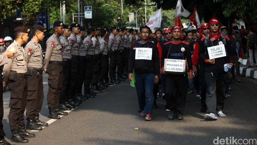 Demo Buruh di Cikampek Aman Tak Ada Penutupan Jalan