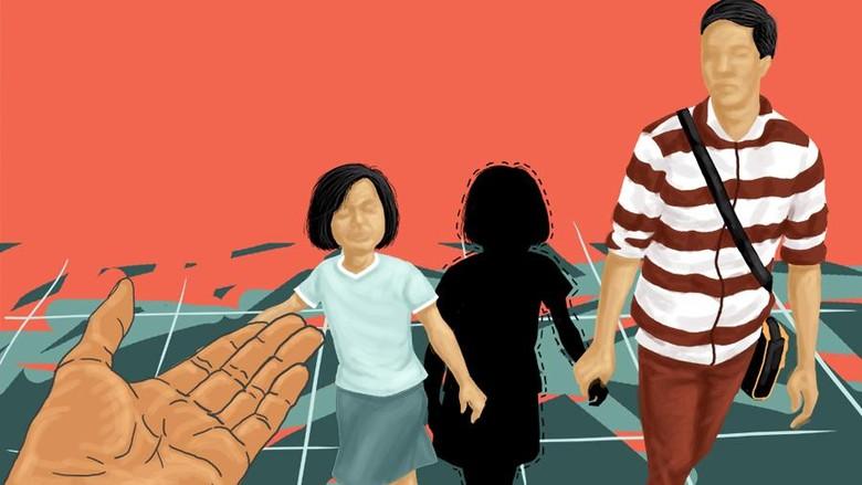 3 Bocah SD di Tangerang yang Sempat Hilang, Dibawa Perempuan Bermotor