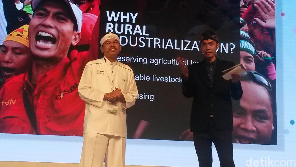 Bupati Purwakarta Pamer Ide Ekonomi Kerakyatan di ASEAN Entrepreneurship Summit