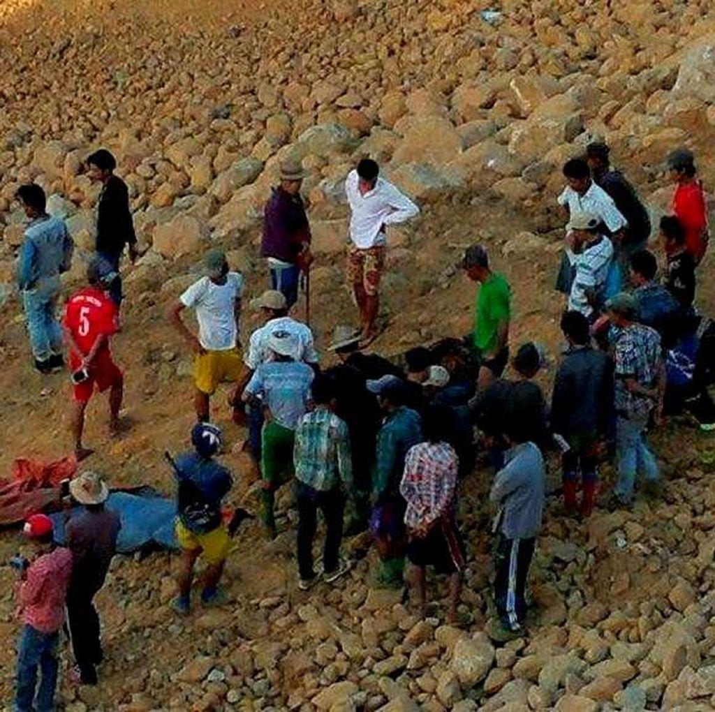 Tambang Emas Afrika Selatan Longsor, 115 Orang Belum Ditemukan