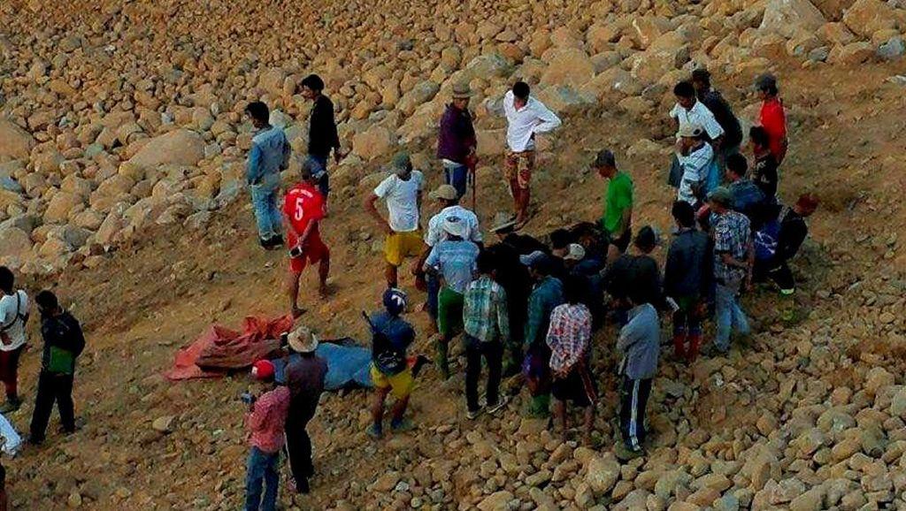 Korban Tewas Longsor di Lokasi Penambangan Giok Jadi 80 Orang