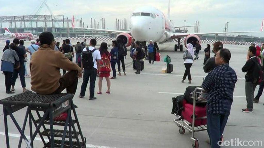 Insiden Lion Air Delay, Kemenhub Ancam Pidanakan Penumpang yang Hadang Pesawat