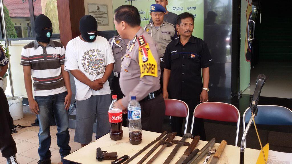 Razia Kampanye Pilkada Sleman, Polisi Sita Airsoft Gun dan Puluhan Sajam
