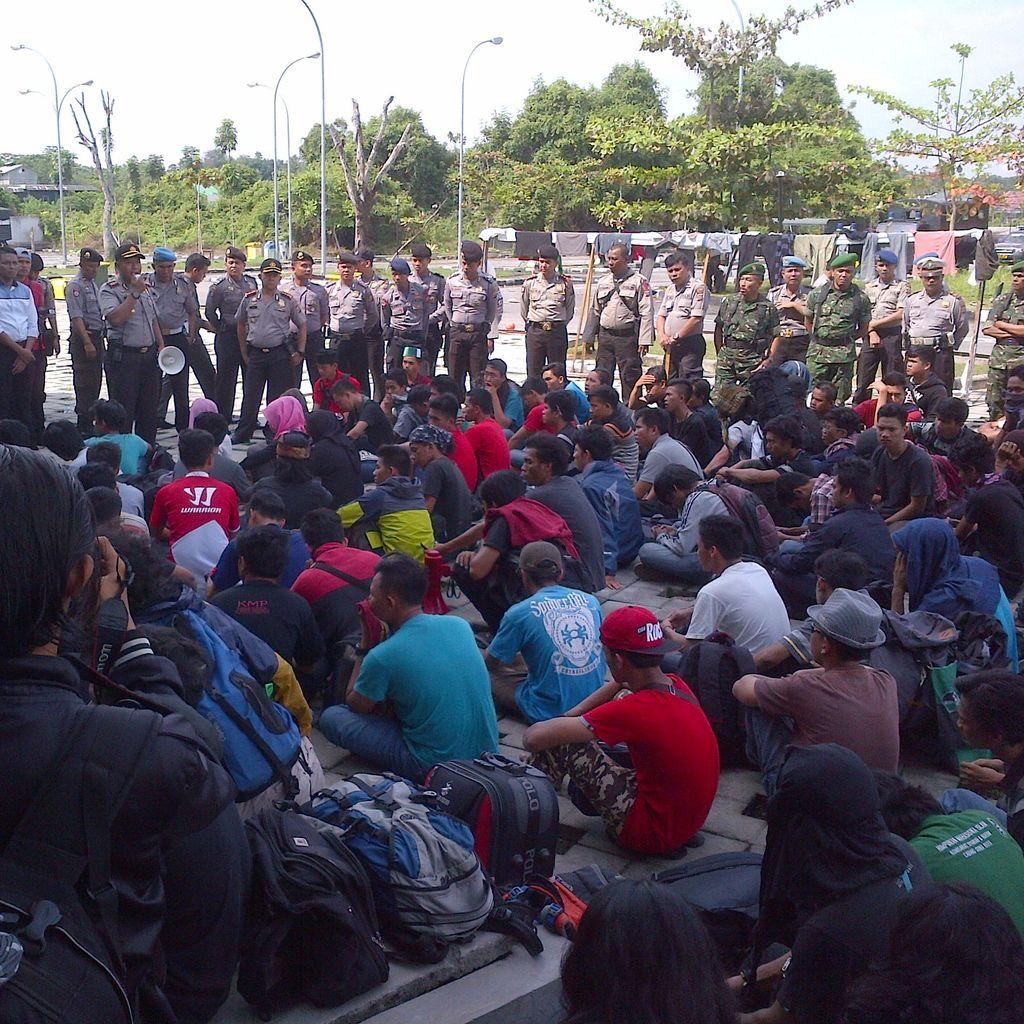 Rombongan Liar Kongres HMI Dipulangkan dari Pekanbaru Sore Nanti