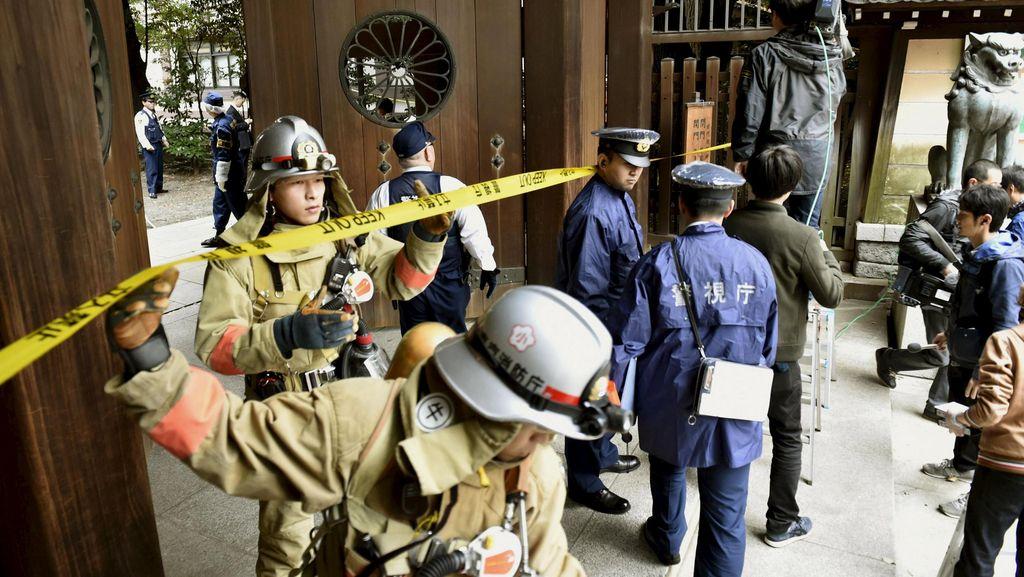 Ledakan Melanda Kompleks Kuil Kontroversial Yasukuni di Jepang