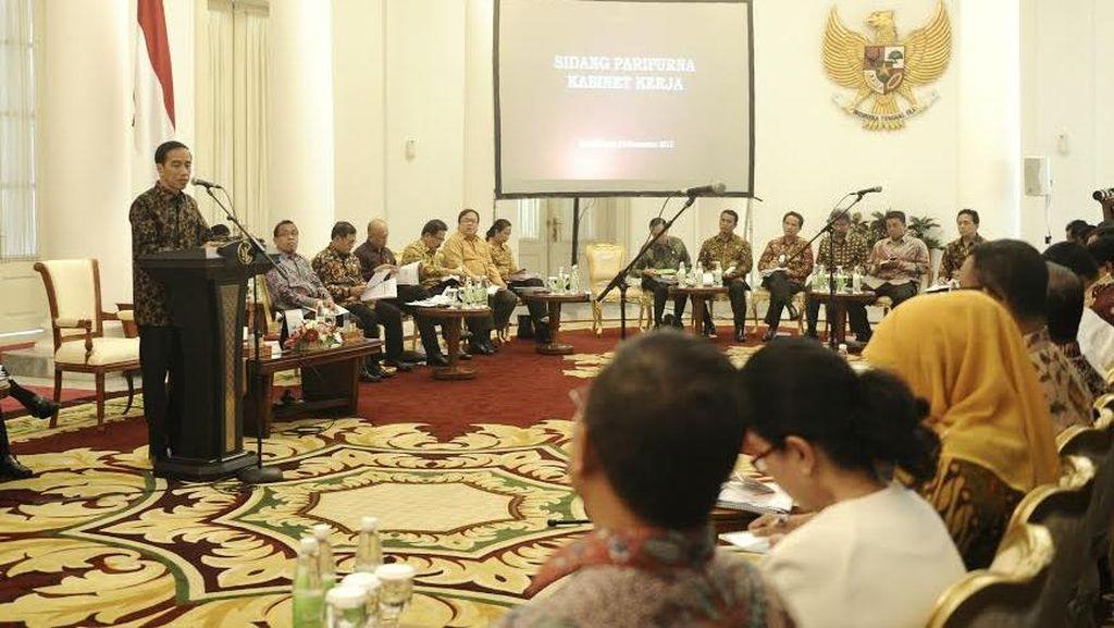Jokowi ke Menteri: Jangan Buat Polemik di Publik, Perbedaan Hanya di Rapat