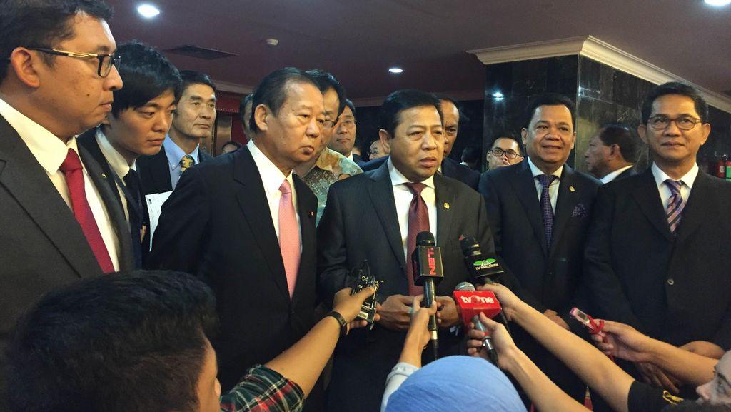 Tak Akan Lapor ke Polisi, Novanto: Saya Maafkan Sudirman Said