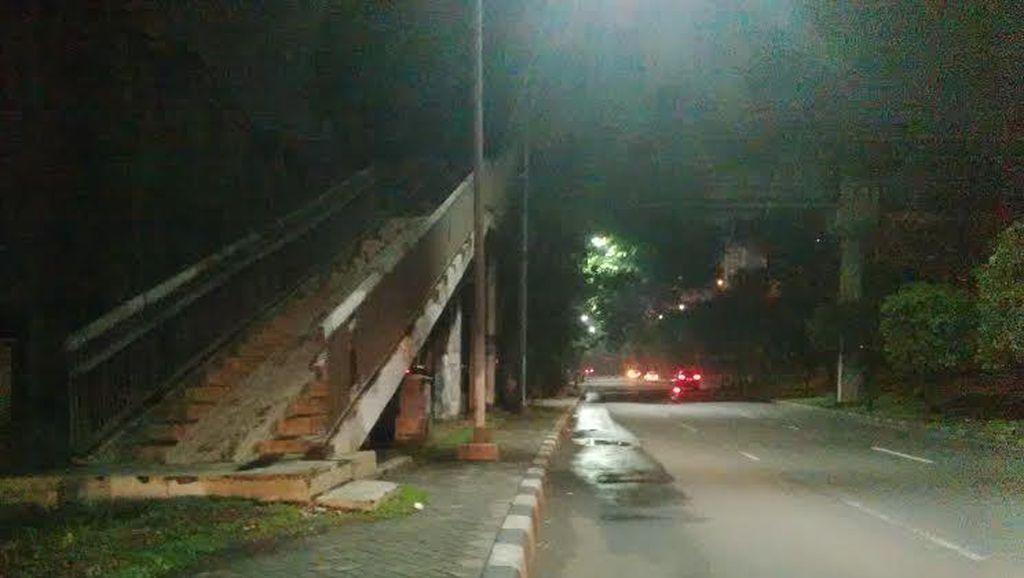 Pemerkosa Karyawati di JPO Lebak Bulus Biasa Jadi Timer di Ciputat