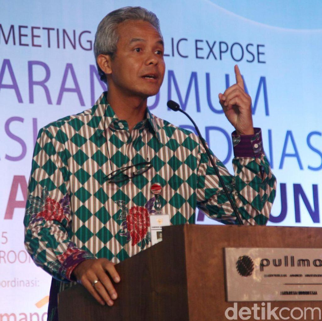 Dana Aspirasi Dewan Disorot KPK, Gubernur Ganjar Sentil DPRD Jateng