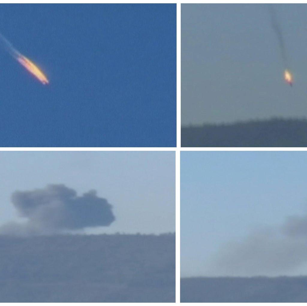 Pesawat Rusia Ditembak Jatuh, Suriah Tuding Turki Dukung Teroris