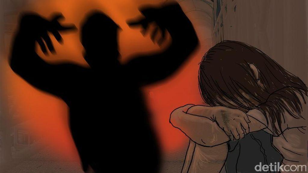 Seorang Ayah di Tangerang Perkosa Anak Tiri hingga Hamil