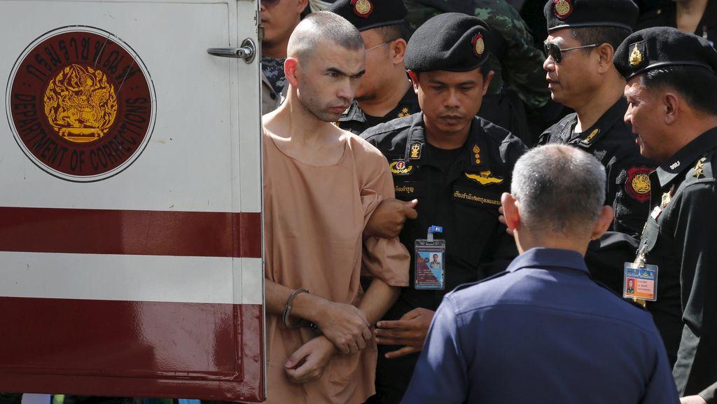 Diperlakukan Tak Manusiawi, Terdakwa Bom Bangkok: Saya Bukan Binatang!