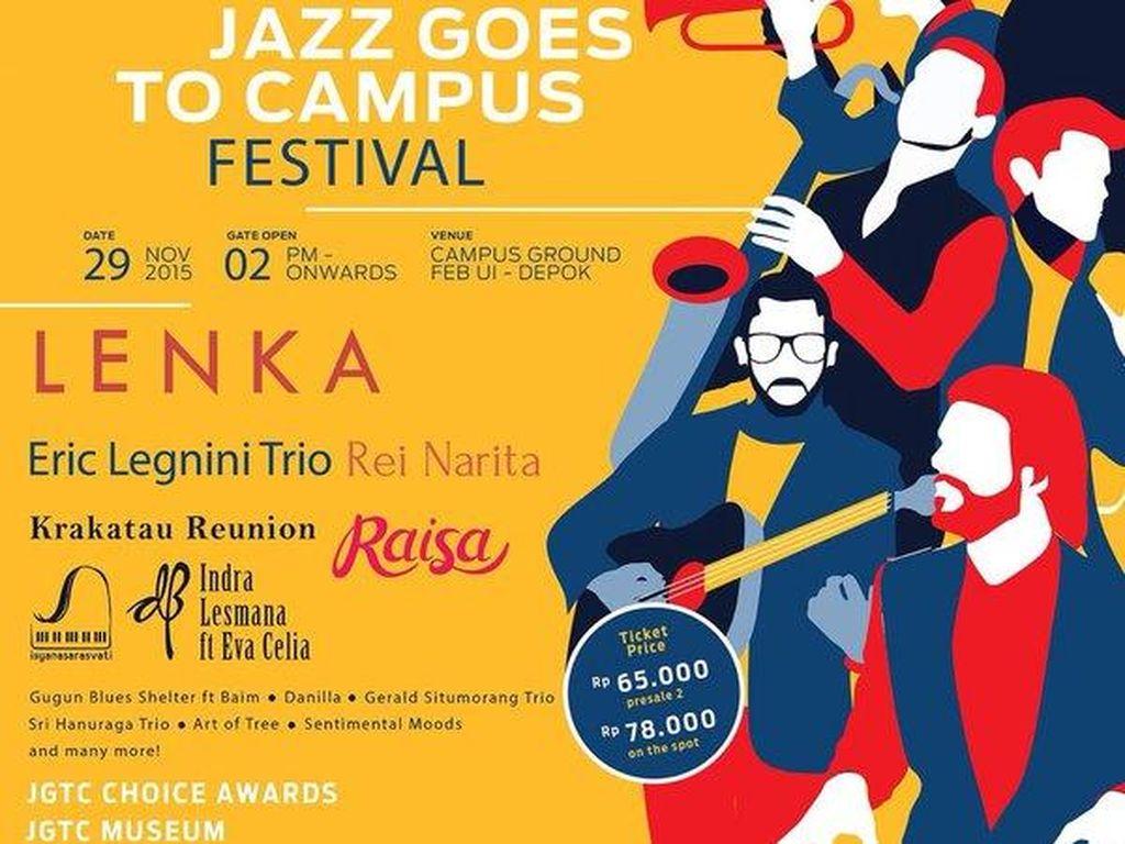 Rap-Jazz Art of Tree dan Kombinasi Gerald Sitomorang Trio Pukau JGTC 2015
