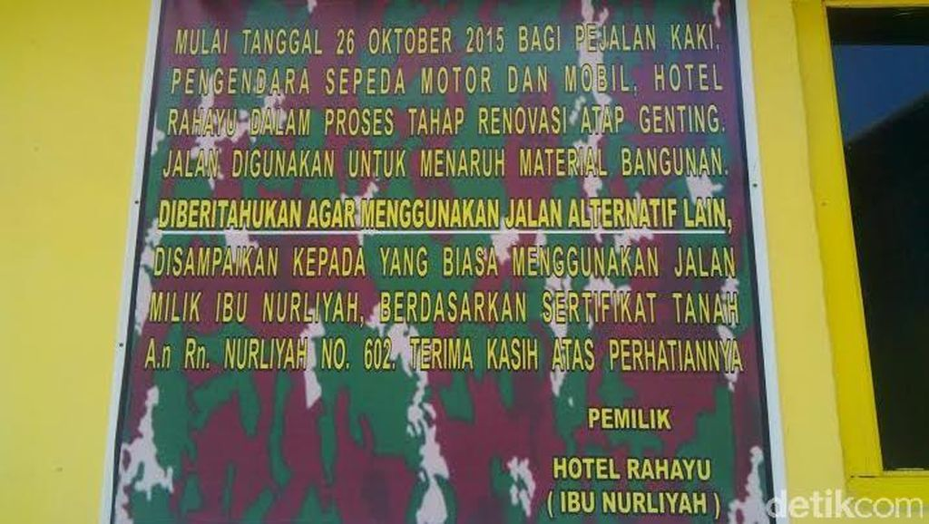 Hotel di Banyuwangi Didemo, Pemilik Datang Naik Mobil Dinas TNI AD