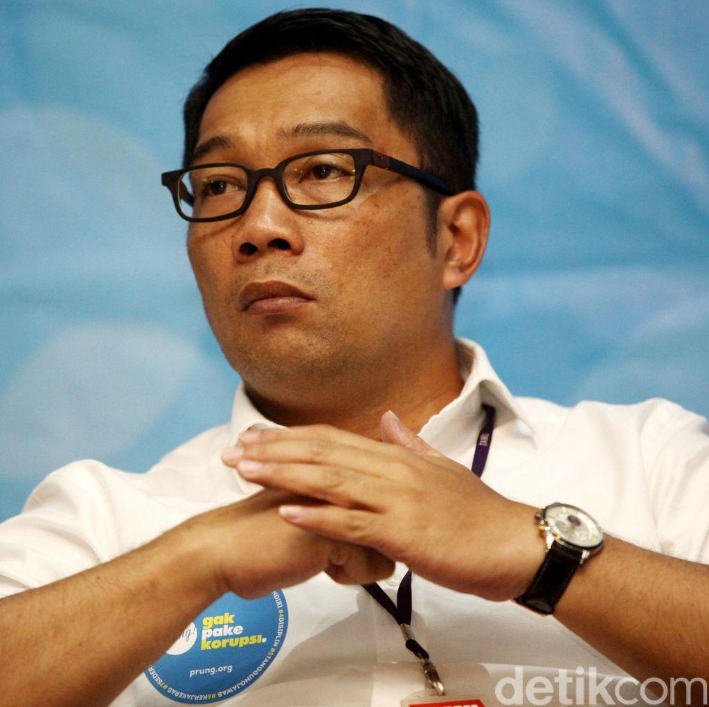 Ridwan Kamil Berhentikan Camat Mandalajati karena KKN