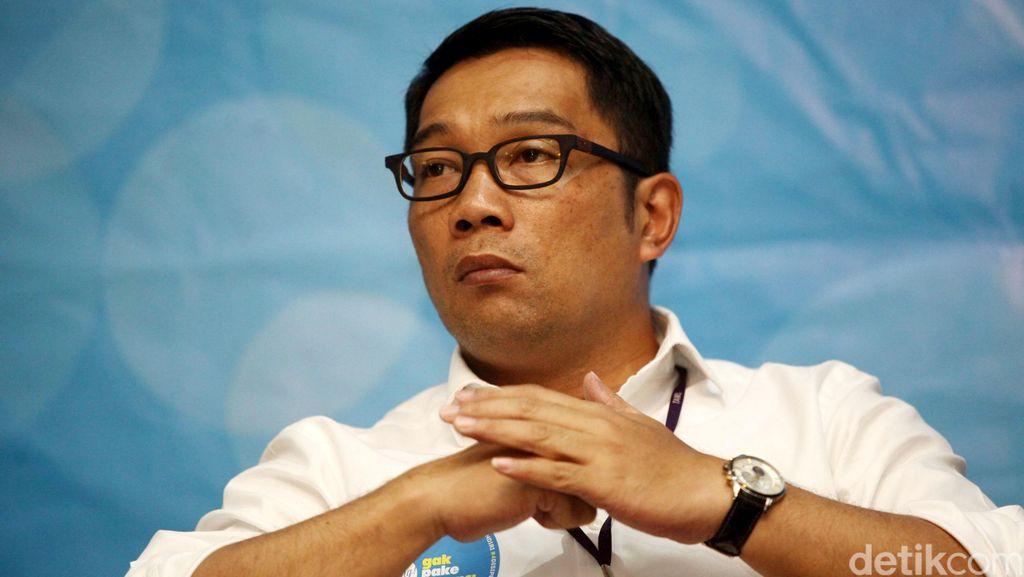 Pesan Ridwan Kamil Soal Kebersihan Lingkungan: Ibu-ibu Harus Cerewet!