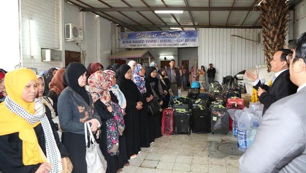 KBRI Riyadh Kembali Pulangkan 45 TKI Bermasalah