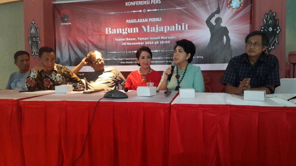 Ketoprak Majapahit, Gagasan Megawati untuk Korban Asap