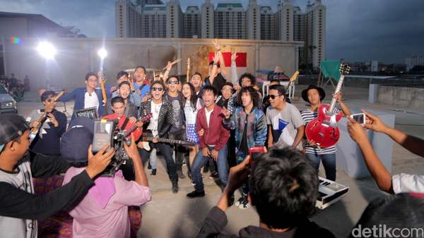 Yuk, Intip Behind The Scenes Video Klip NOAH, Geisha, Nidji dan dMasiv