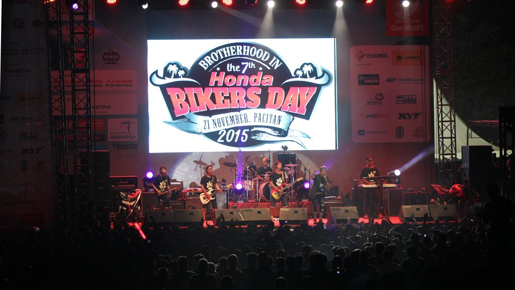 Honda Bikers Day 2015, Pesta Buat 21.000 Bikers !