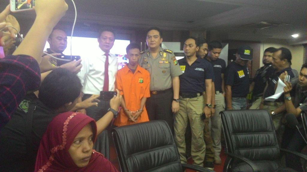 Ini Tampang Anwar, Paman yang Tega Perkosa dan Bunuh Siswi MTs di Jasinga