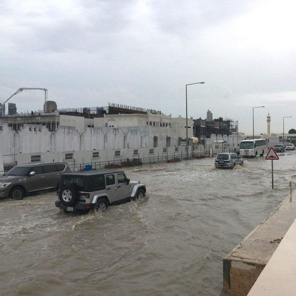 Qatar Dilanda Banjir, Picu Kemacetan dan Sekolah Ditutup