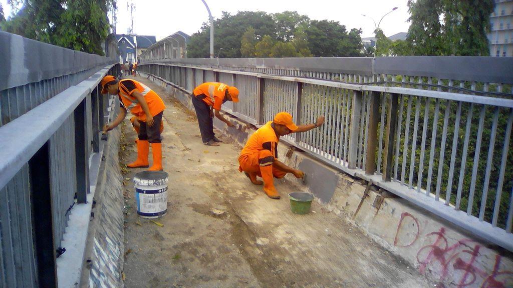 Ini 26 Jembatan Penyeberangan di Jakarta yang Akan Direvitalisasi Swasta