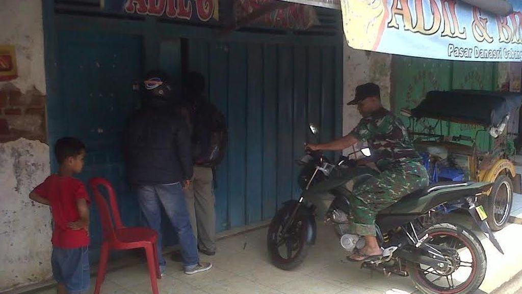 Letuskan Tembakan, Perampok Kuras 2 Toko Emas di Pasar di Cilacap
