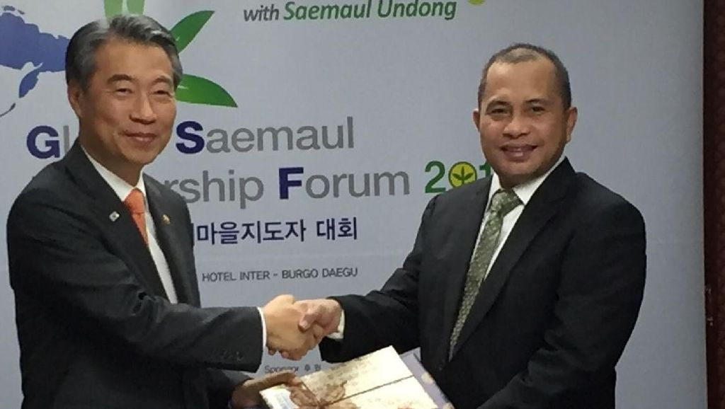 Menteri Marwan Ingin Desa di Indonesia Contoh Desa di Republik Korea