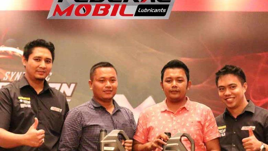 Produk Baru Federal Mobil Deltron Didukung oleh Puluhan Pemilik Bengkel di Surabaya