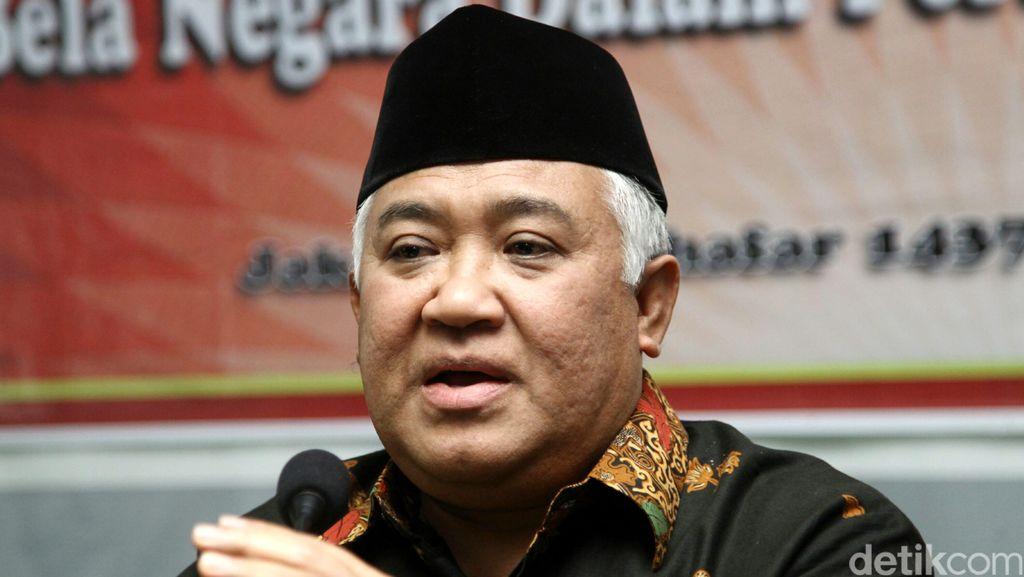 Din Syamsuddin: Aksi Pembakaran Rumah Ibadah Tak Bisa Ditoleransi