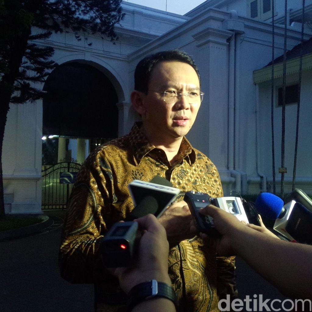 Ahok Melapor ke Jokowi Soal Transaksi Beras Bulog Gunakan e-Money