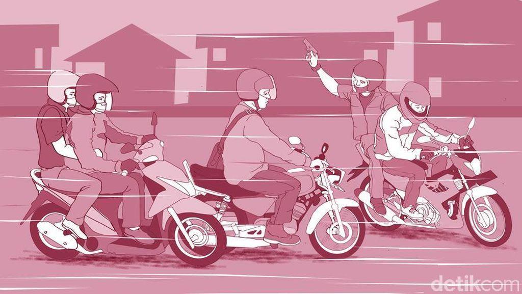 Dibekuk Polisi, Begal Ini Mengaku Bisa 5 Kali Beraksi dalam Sehari