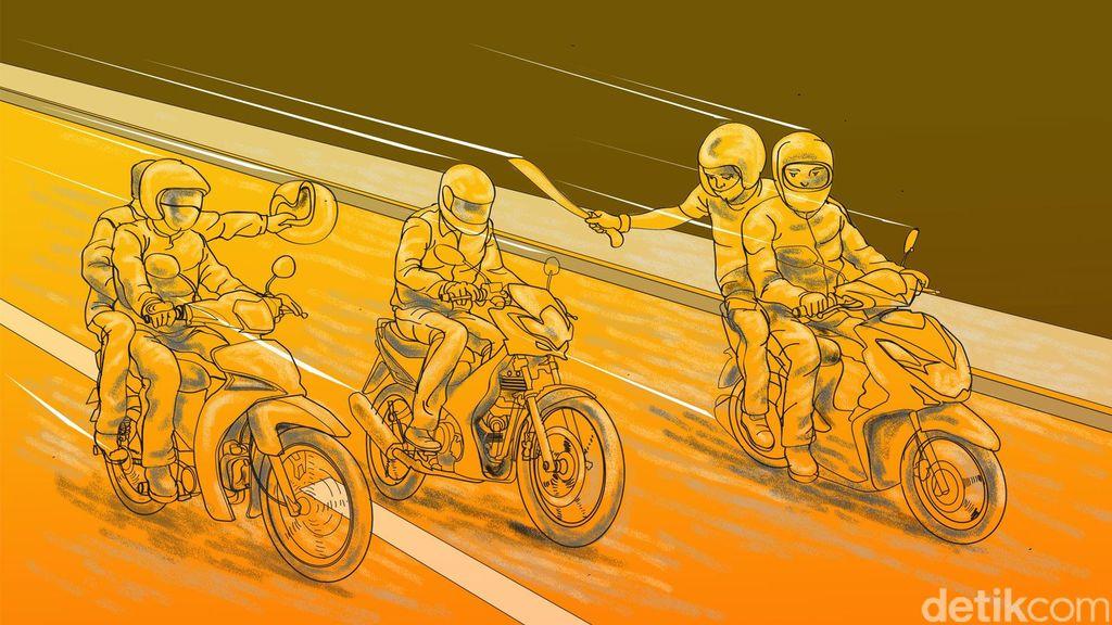 Motor Dirampas, Ilham Tewas Ditusuk Begal di Bekasi