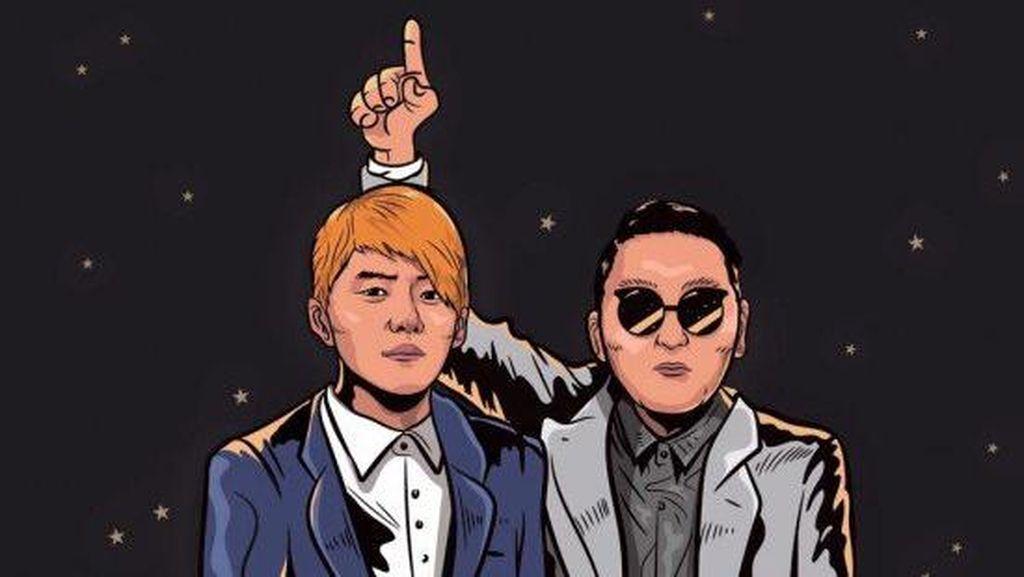Psy Juga Kolaborasi dengan Junsu JYJ di Album Baru