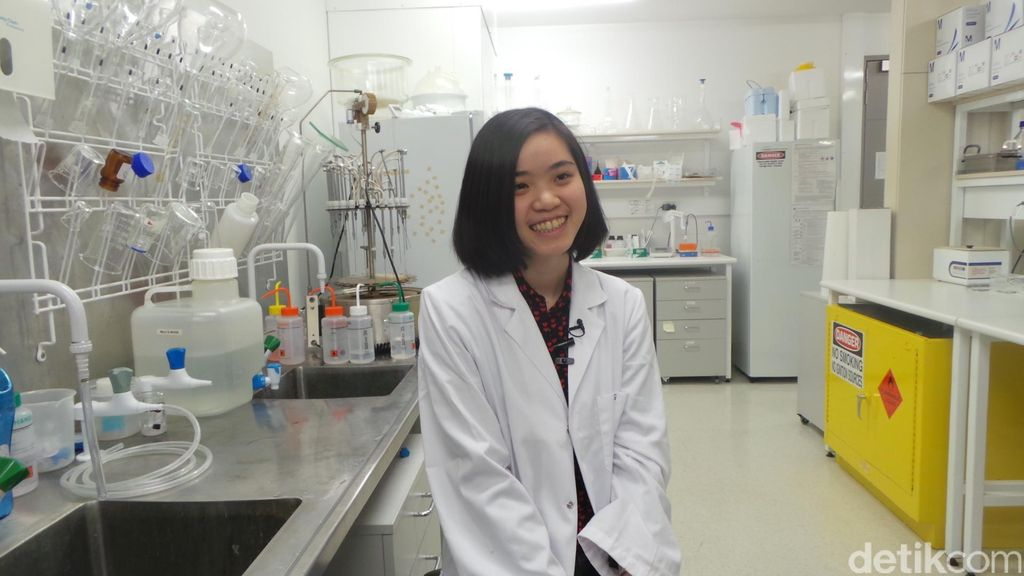 Gracia, Dari Jakarta Mengejar PhD di Universitas Monash di Usia 23