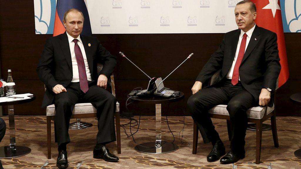 Erdogan Ingin Bertemu Langsung dengan Putin di Konferensi Iklim Paris