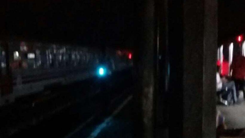Stasiun Bogor Mati Lampu, Perjalanan Kereta Tak Terganggu